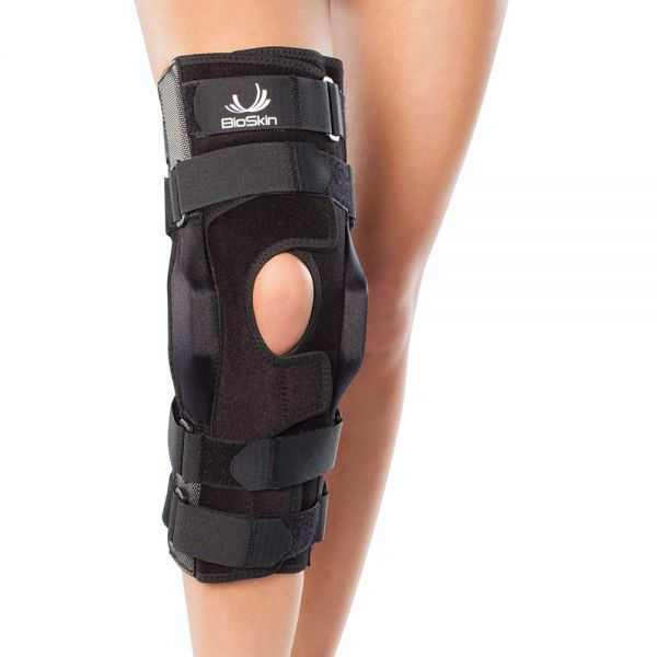 Wraparound ligament knee brace