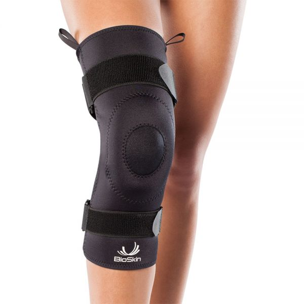 Knee support with gel