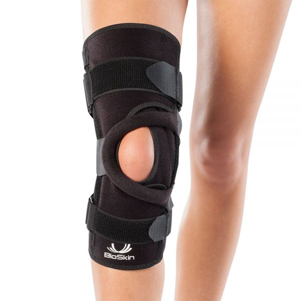 Patella tracking brace wraparound