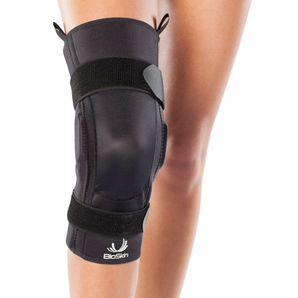 Premium hinged knee brace