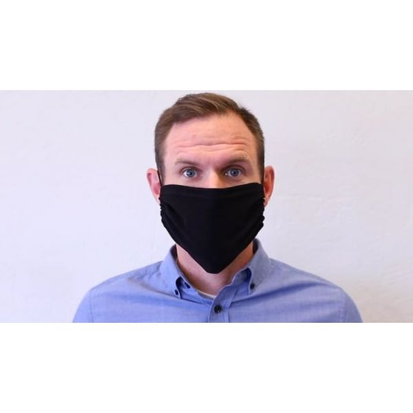 Black & Gold - Three Pack Fabric Face Mask