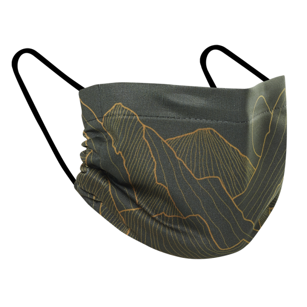 Alpine Winter - Three Pack Fabric Face Mask