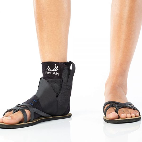 Ankle brace with sandals