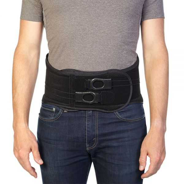 Back brace for lumbar pain