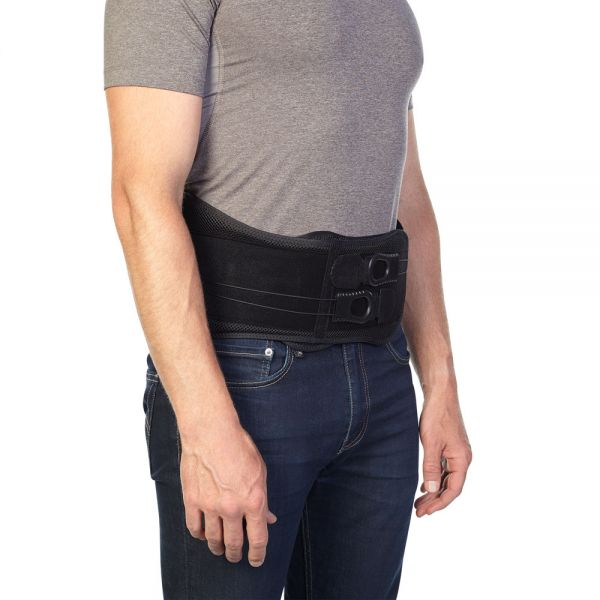 Back brace for posture support