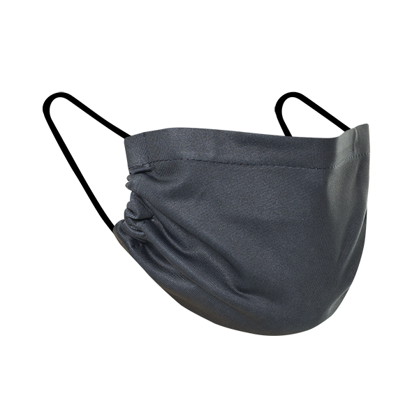 Charcoal - Three Pack Fabric Face Mask