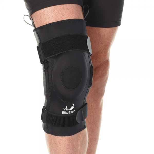 Premium Hinged Knee Brace with Gel