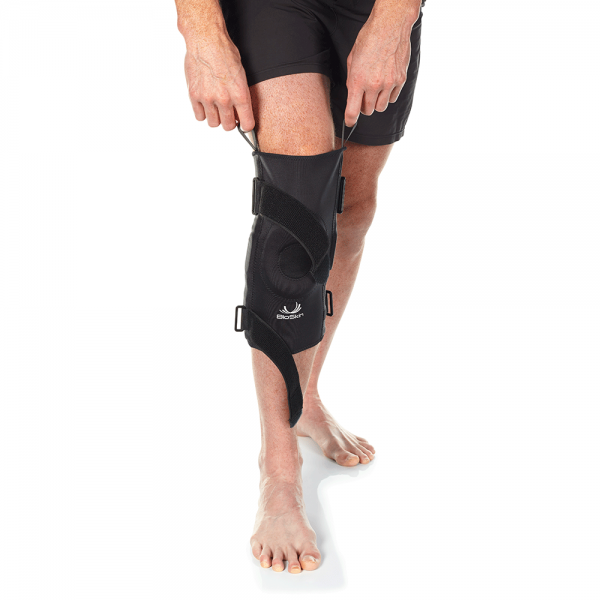 comfortable hinged knee brace