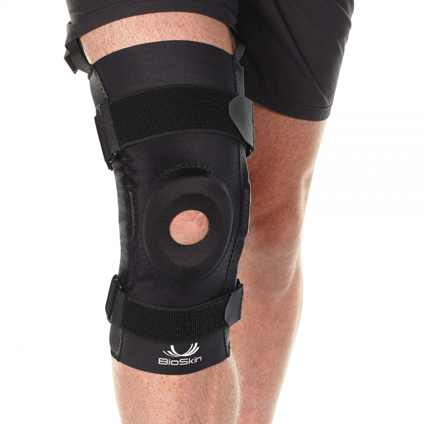 BioSkin hinged knee brace
