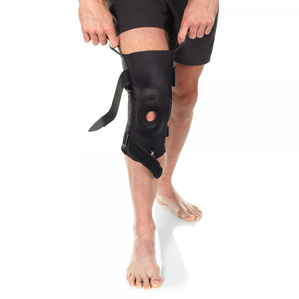 hinged knee brace for knee pain