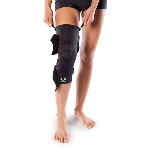 Knee brace with gel pad
