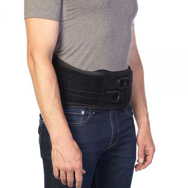 Low profile back brace