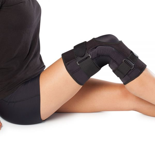 Most comfortable wraparound hinged knee brace