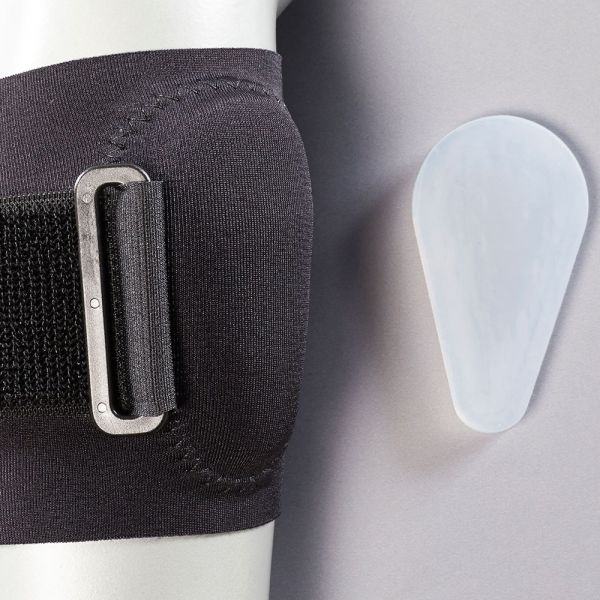 Tennis elbow band with gel