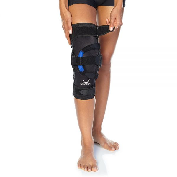 Patella tracking brace with joint support