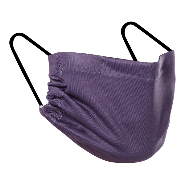 Double Layer Mask - Purple Solids 3 Pack Mask