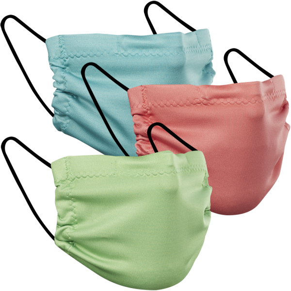 Summer Solids - Three Pack Fabric Face Mask