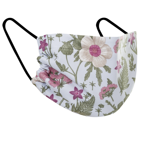 Wildflowers - Three Pack Fabric Face Mask