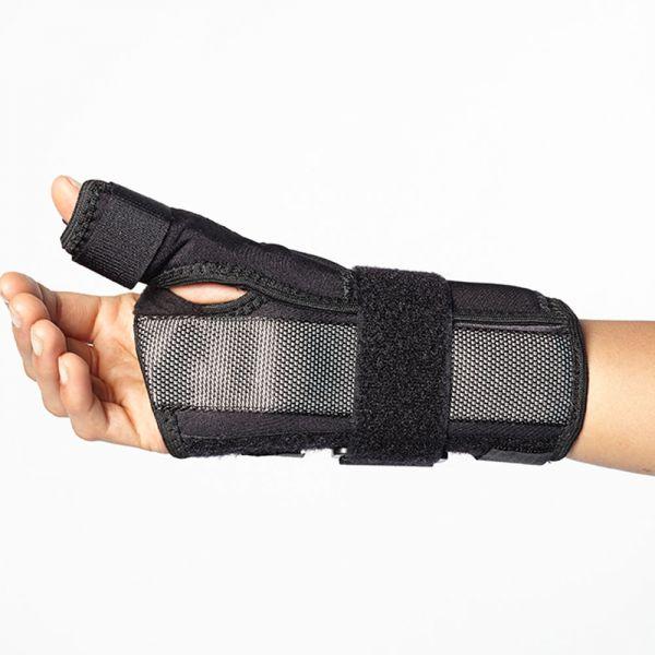 Wrist brace and thumb stabilization