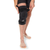 Hinged knee brace for stability